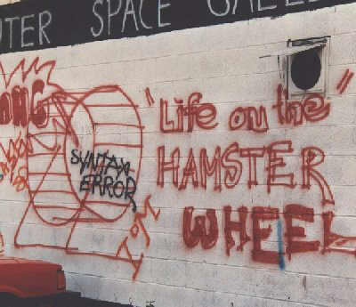 life on the hamster wheel