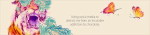 Confessions of a Social Media Junkie blog header
